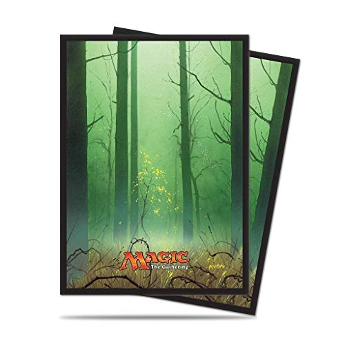 Ultra Pro- 5 Forest Standard Deck Protector Sleeves for Magic (E-86458)