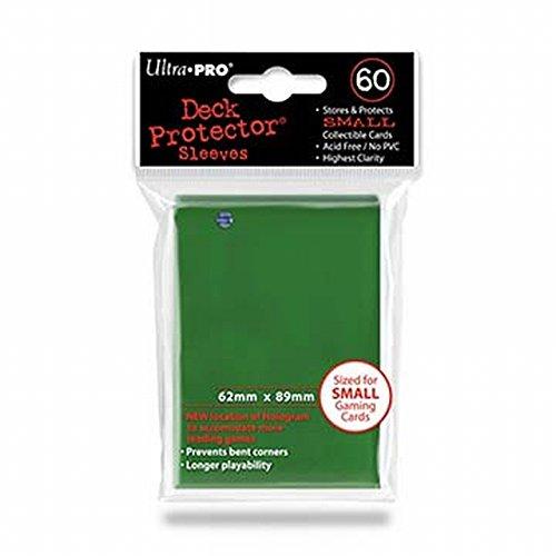 Ultra Pro- Deck Protector Fundas Verdes Pequeñas (60), Color (E-82966)