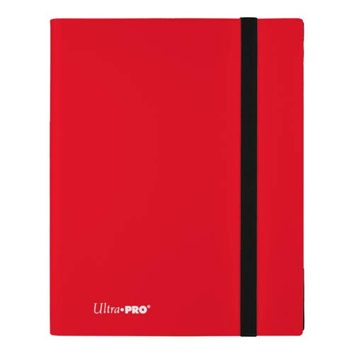 Ultra Pro E-15146 Eclipse 9-Pocket Pro-Binder-Apple Red