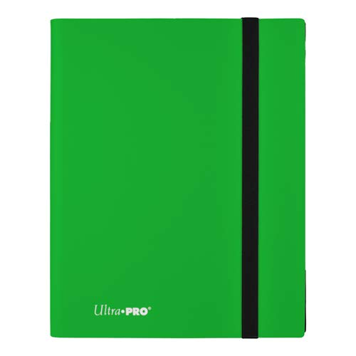 Ultra Pro E-15148 Eclipse 9-Pocket Pro-Binder-Lime Verde Carpeta