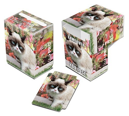 Ultra Pro- Grumpy Cat Flowers Full-View Deck Box (330717)
