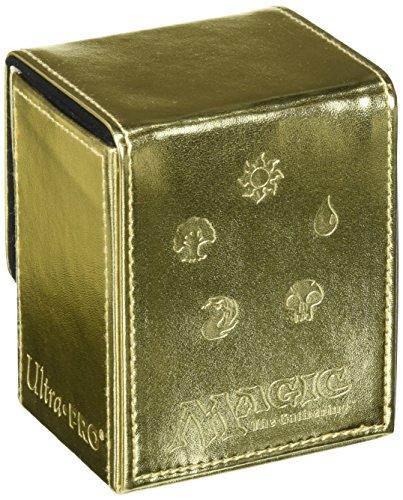 Ultra Pro Juego de Cartas Deckbox Magic Mana Flip (Dorado) (86049)