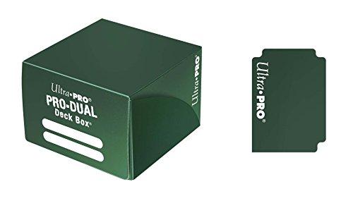 Ultra Pro–Juego de Cartas Deckbox Pro Dual C30(Verde)