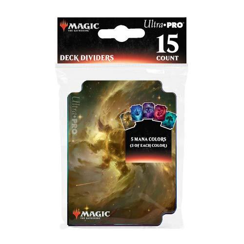 Ultra Pro Magic The Gathering-Divisores de cubierta para tierras celestiales, paquete de 15 (E-18294) , color, modelo surtido