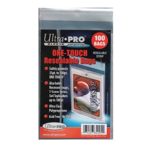 Ultra Pro One Touch - Bolsas de Polietileno resellables (100 Unidades)