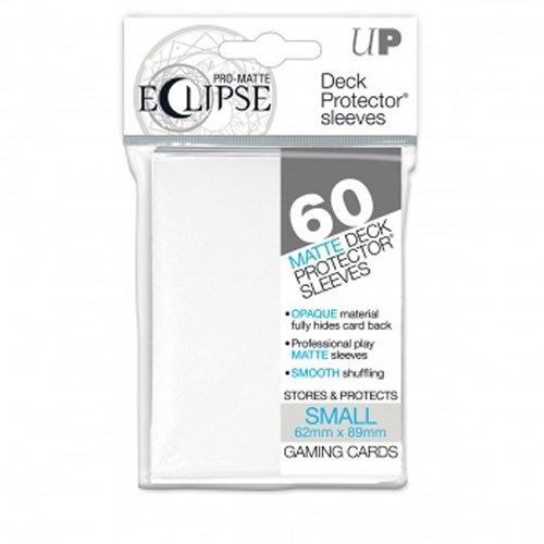 Ultra Pro- Pro-Matte Eclipse–(60Fundas), Color Blanco (E-85268)