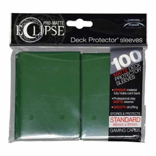 Ultra Pro- Pro-Matte Eclipse Forest Green (100), Color Verde (E-85605)
