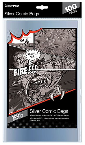 Ultra Pro - Ultro Pro - Comics Silver Size Bags - Lot de 100 - 0074427819767