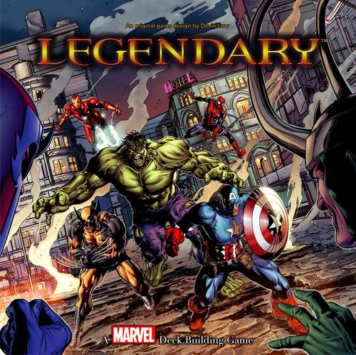 Upper Deck Entertainment Marvel Legendary - Juego de construcción de mazos