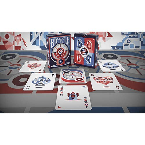 U.S.P.C.C. Bicycle Eye Playing Cards by Prestige Cards