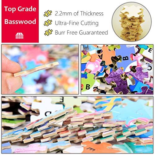 VAST Puzzle de la Familia del Juguete del Juego, Creativo Fairy Tale Mundial de Puzzles de Dibujos Animados Animado 300/500/1000 Piezas de descompresión Rompecabezas 508 ( Size : 300pc )