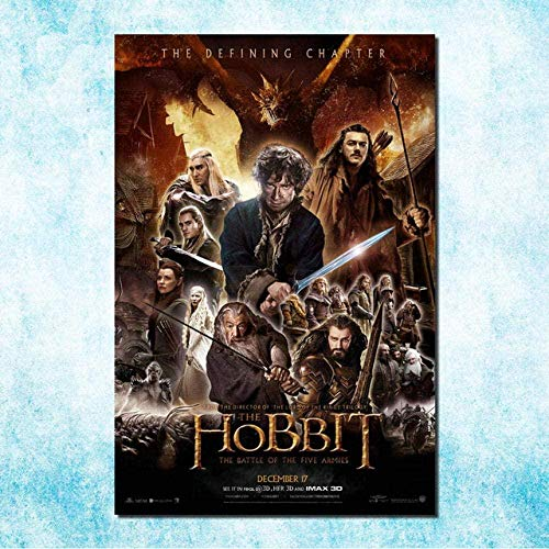 VGFTP® Rompecabezas de Madera Rompecabezas de Arte de película Rompecabezas clásico Rompecabezas 1000 Piezas El Hobbit 3 La Batalla de los Cinco ejércitos Rompecabezas Juego de Rompecabezas
