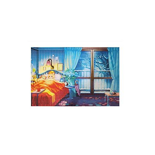 Volar A Isla Fantasía Rompecabezas Gato De 1000 Piezas For Adultos Juguetes Educativos Regalos Románticos 5.18 (Color : C, Size : 1000 Tablets)
