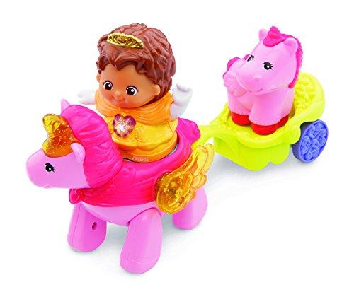 VTech Baby 80-177104 – Pequeña Banda Exploradora, Princesa Valerie con Unicornio