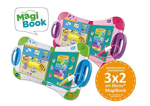 VTech – Libro para Magibook Formas y colores, Aprende en casa, Desarrollo de la creatividad con más de 40 actividades y cientos de interacciones, Nivel 1, 2-5 años (3480-480522)