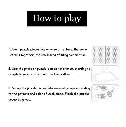 VVNASD Puzzle De 1000 Piezas para Infantiles Decoración De Imagen Decoración para El Hogar Dama con Tigre Madera Juguetes Divertidos Juegos Gran Regalo Educativo para Niños