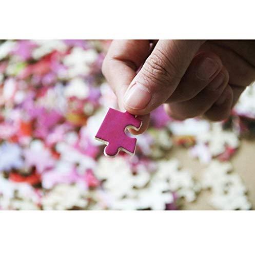 VVNASD Puzzles De 1000 Piezas para Adultos Decoración De Imagen Decoración para El Hogar Dama con Tigre De Madera Juguetes Divertidos Juegos Gran Regalo Educativo para Niños