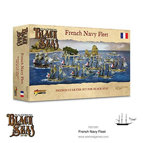Warlord Games French Navy Fleet (1770 - 1830)