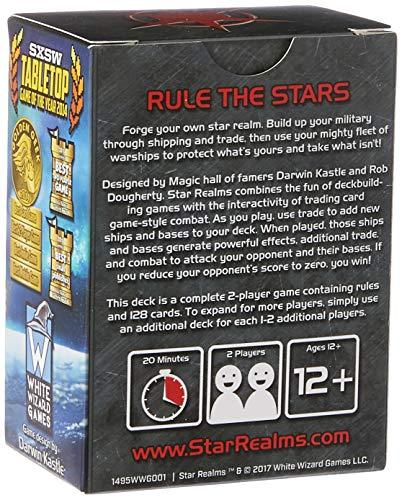 White Wizard Games, El Juego Deckbuilding de Star Realms.