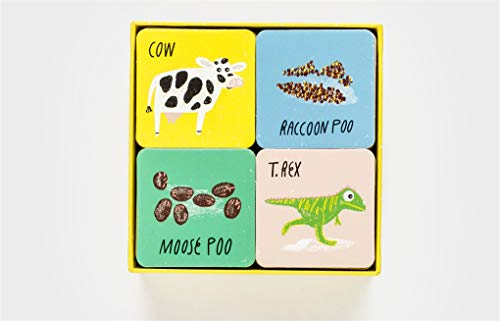 Who Did This Poo?: An Animal Matching Game: A Matching & Memory Game (Magma for Laurence King)