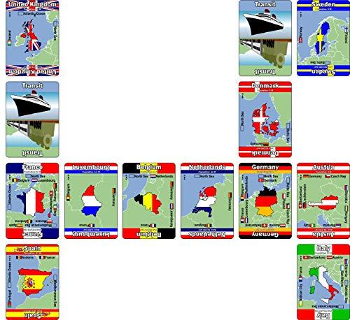 Wild Card Games - Juego de fichas, 2 a 5 Jugadores (004ME) (versión en inglés)