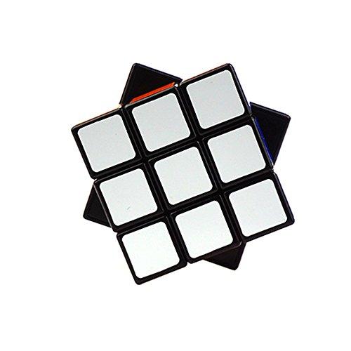 Wings of Wind - Fácil girar suave y velocidad 2x3x3 cubo mágico cubo puzzle cubo 2,24 x 1,49 x 2,24 pulgadas (Negro)
