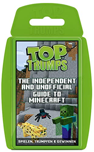 Winning Moves 63568 Top Trumps The Independent and Unofficial Guide To Minecraft - Juego de Mesa (Contenido en alemán)