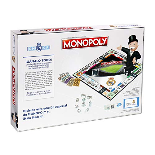 Winning Moves Monopoly Real Madrid CF (63324), Multicolor