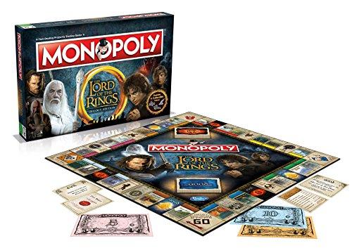 Winning Moves Señor de los Anillos Monopolio Juego de Tablero