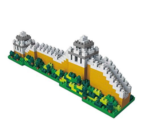 Wise Hawk Gran Muralla China. Modelo de Arquitectura para armar con nanobloques