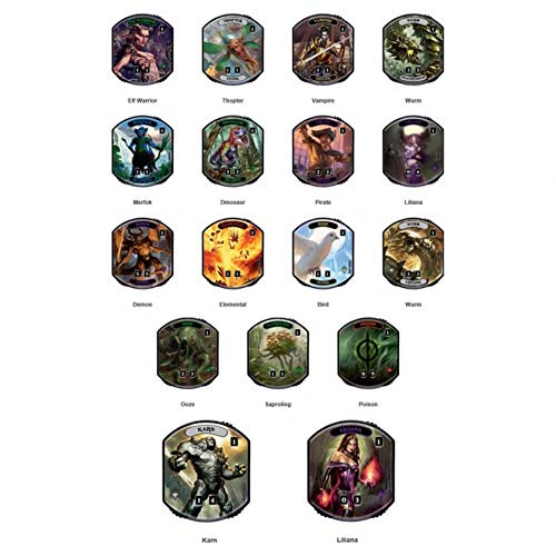 Wizards of the Coast- Magic: The Gathering Relic Tokens - Lineage Collection Display Box (E-86851)
