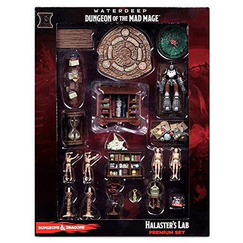 WizKids D&D Icons of The Realms Waterdeep Dungeon of The Mad Mage Halaster's Lab Set