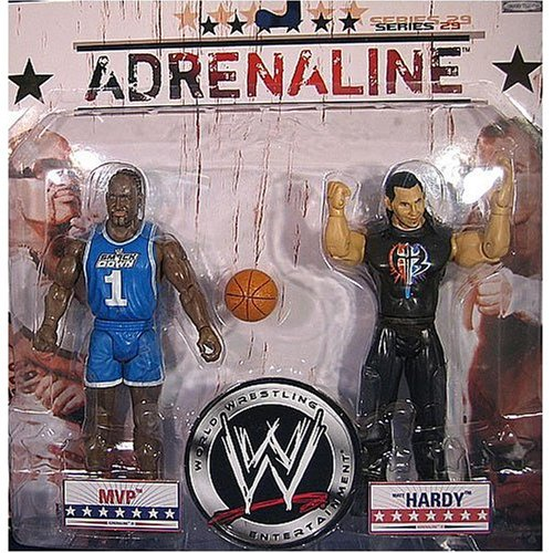 WWE Adrenalina Serie 29 - MVP & Mate Hardy