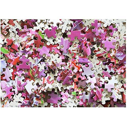 WZXHN Puzzle De Madera 3D Clásico Decoración Amazing Nature Collection - Rompecabezas de pájaros cantores manchados Juguetes de Entretenimiento para el hogar-300 Piezas