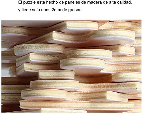 XIAOSHI Imagen 1000 Piezas Madera Adultos Educativos Rompecabezas Juguetes Para Niños Cinco girasol pinturas 3D Foto Estar Dormitorio Decoración Para Hogar Fondo Wallpaper Mural