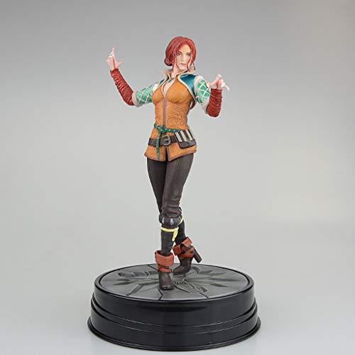 XQ Xqwo The Witcher 3: Caza Salvaje Figura de acción de Triss Figura Figura de acción de The Witcher Juego Collectibles 19CM