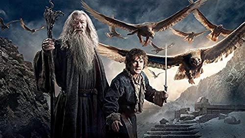Xtimi Tienda De Juguetes - Rompecabezas De 1000 Piezas Juego De Rompecabezas De Madera Juego De Entretenimiento Para Adultos Juguetes Para Niños - El Hobbit 3 Batalla De Los Cinco Ejércitos Poster