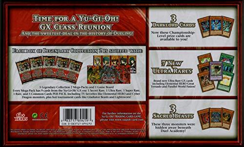 Yu-Gi-Oh! KONLC2 Legendary Collection 2-Gameboard Edition Negro alfonbrilla para ratón