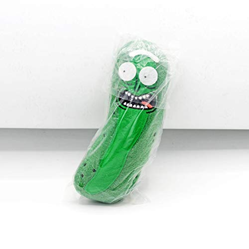 yuanchuang Peluche 20cm Peluches Muñeca Cute Pickle Rick Plush Soft Pillow Peluches para Niños Niños