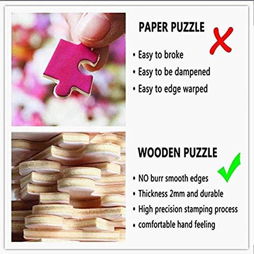 ZHRMGHG Puzzle 1000 Piezas Parada En Boxes 3D Personalizado De Madera Montaje Divertido Alivia El Estrés Juego Adulto Decoraciones Únicas XXL 75X50Cm