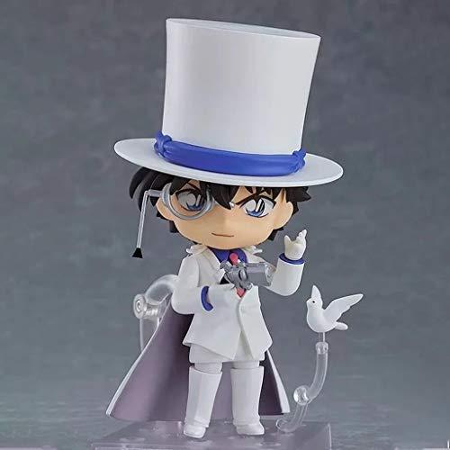 ZHUZEwei Nendoroid Mini Q Kid The Phantom Thief 3.9inches Animado Detective Conan Carácter Caso Cerrado Figura de acción de PVC-PE