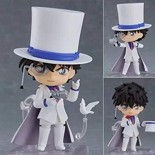 ZHUZEwei Nendoroid Mini Q Kid The Phantom Thief 3.9inches Animado Detective Conan Carácter Caso Cerrado Figura de acción de PVC-PE