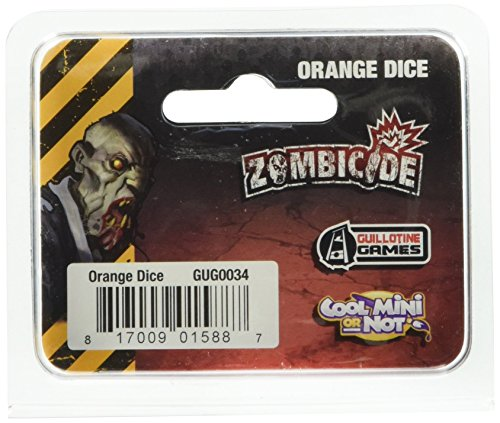 Zombicide - Dados Naranjas