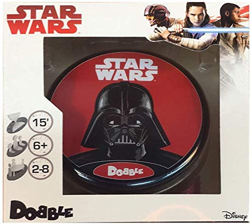 Zygomatic- Dobble Star Wars - Español (Asmodee ASDOSW02) , color/modelo surtido