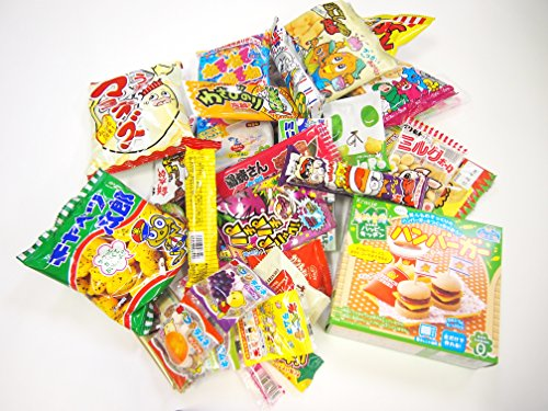 52 Japanese Candy and Snack Okashi Set
