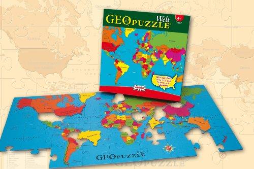 Amigo 00381 Geo Puzzle  - Mundo