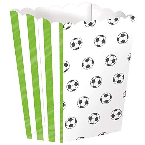 amscan 9903020 - Cuenco para palomitas, diseño de fútbol