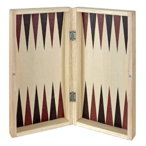 Aquamarine Games CP1070 - Ajedrez, damas y backgammon en estuche