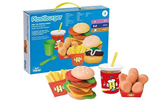 Art Planet - Plastilina hamburguesas, talla pequeña
