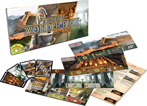 Asmodee 7extensión Wonder Pack, sev04mu04, Juegos de Mesa